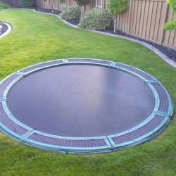 In Ground Trampolines How to Install A Sunken Trampoline